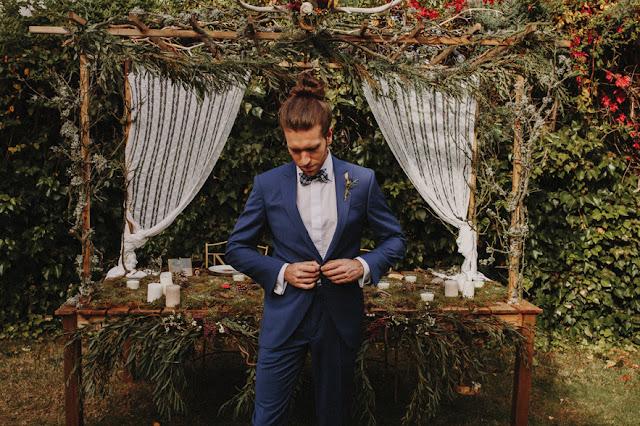 Blog Mi Boda - Editorial Wild Christmas - Protocolo Novios