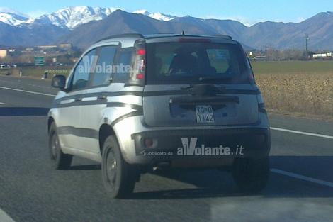 Fiat Panda 2013  on Fiat Has Begun Testing The Third Generation Panda 4x4 In Italy