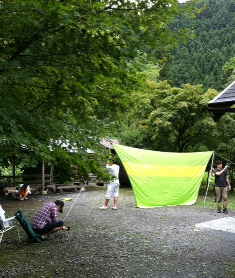 let s think globally camping in akikawa valley