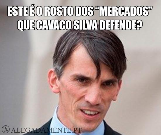 """Imagem de Peter Boone - Este é o rosto dos """"Mercados"""" que Cavaco Silva defende?"""