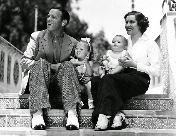 An early Burns family portrait.