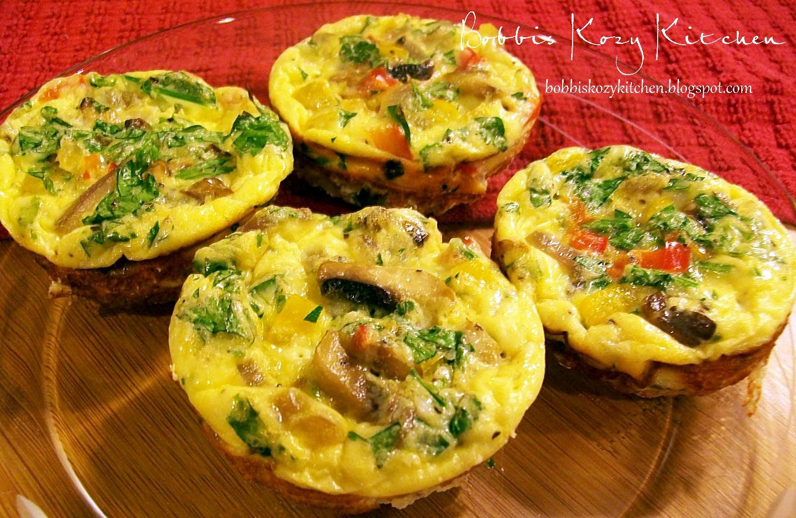 Mini Frittatas | Bobbi's Kozy Kitchen