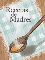 Libro: Recetas de madres