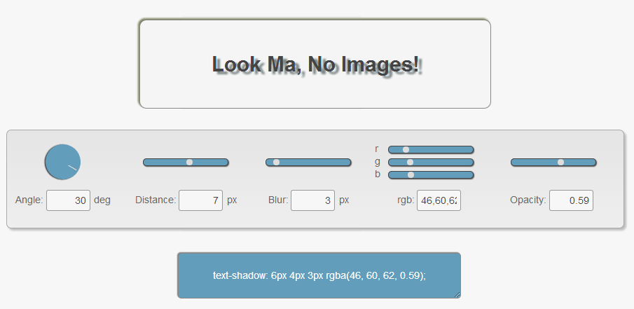 Cara Membuat Text 3D / Timbul di Blog dengan Efek CSS3 text-shadow