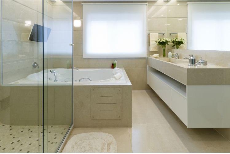 decoracao de interiores para banheiro:Decoração de Interiores: Idéias para banheiros