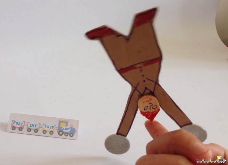 Cardboard Balancing Science Toy 3
