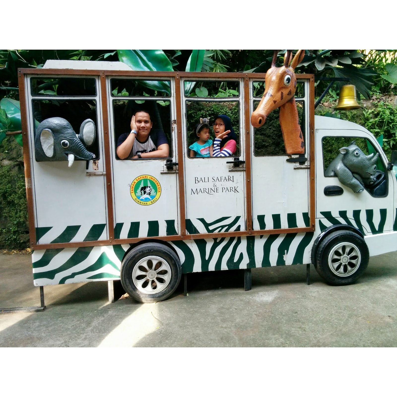 Hey It S Us Bali Safari And Marine Park Day 2