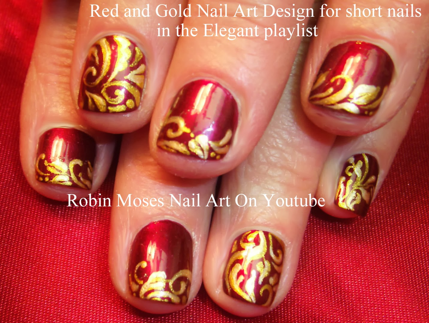 Robin Moses Nail Art: December 2013