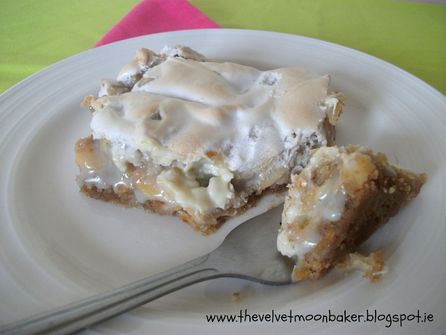 Lemon Meringue Magic Bar