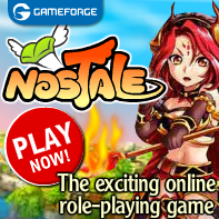 Nostale, one of the most fun role-playing games in cartoons style