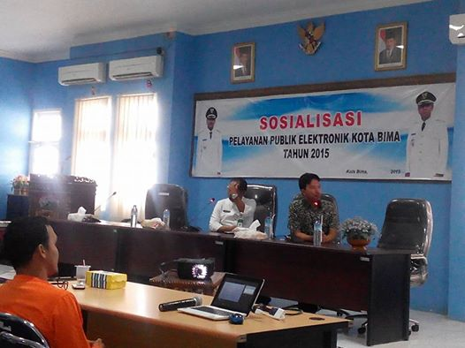 Pemkot Sosialisasi Program Pelayanan Publik Secara Elektronik