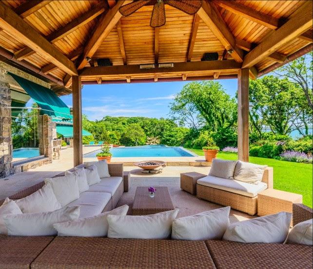 Decore com gigi varandas um ambiente delicioso for Pool pavilion plans