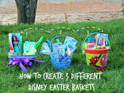 How to Create 3 Different #DisneyEaster Baskets #DisneyEaster #ad