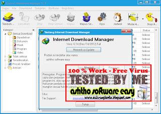IDM Internet Download Manager 6.14 Terbaru