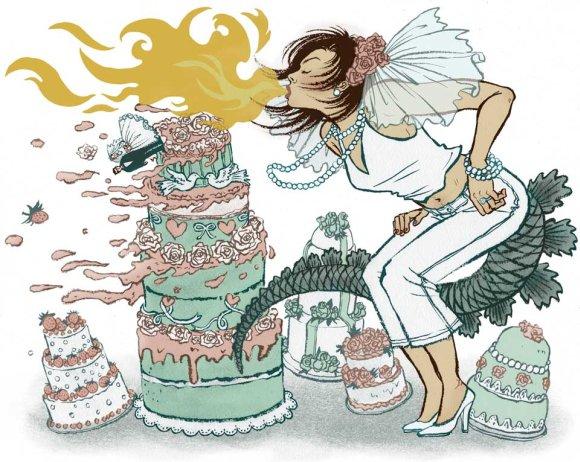 yuko shimizu ilustrações revistas mulheres fortes gueixas japão
