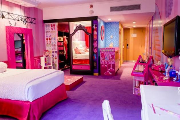 Barbie habitación Hilton