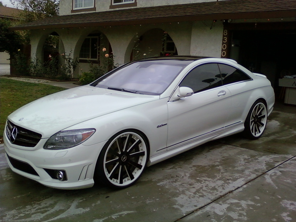 Mercedes Benz Cl 63 Amg On 22 Inch Forgiato Concavo Rims Only The
