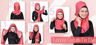 Tutorial Cara Memakai Hijab Modern Bahan Ceruti dengan Mudah