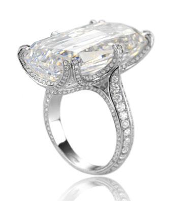 beautiful wedding rings herzigova spotted chopard emerald