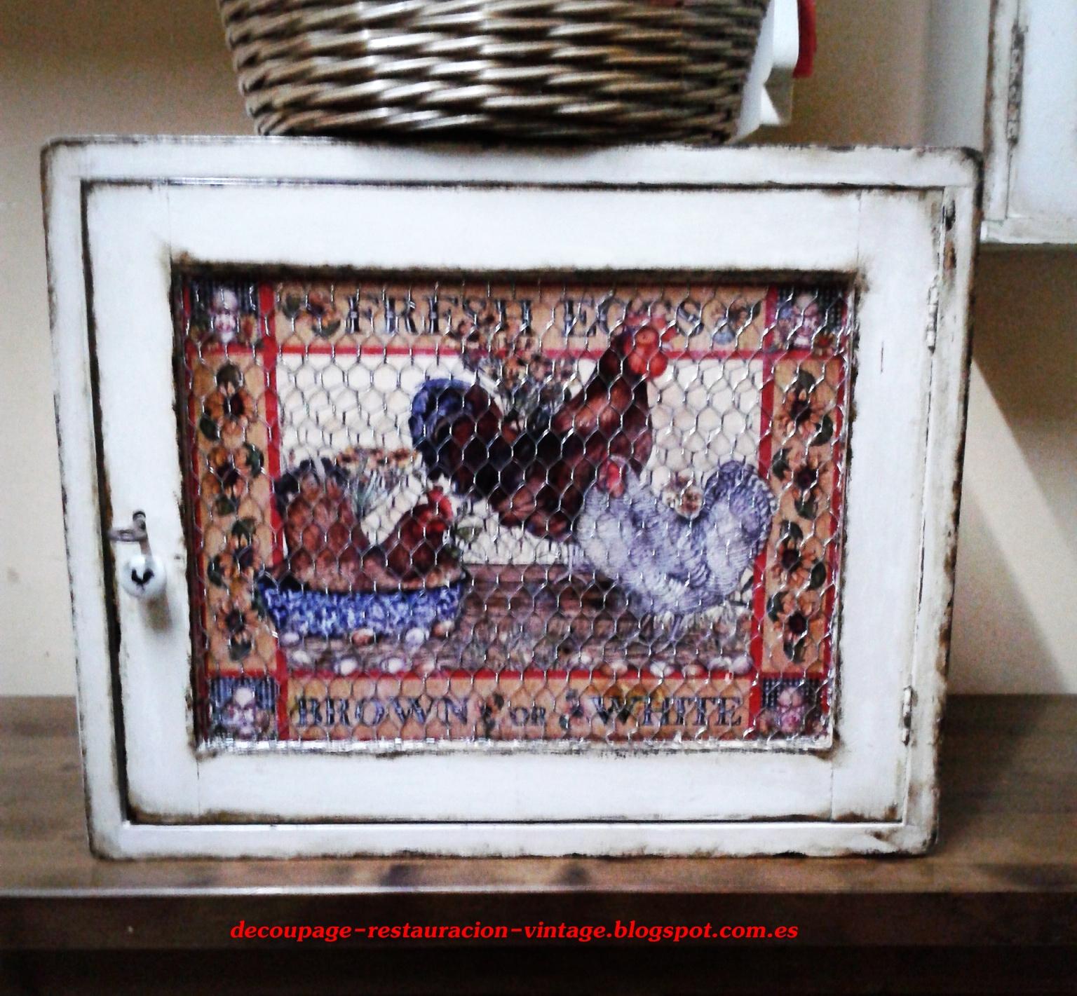 Botijos decorados con decoupage crafts - Tecnicas de restauracion de muebles ...