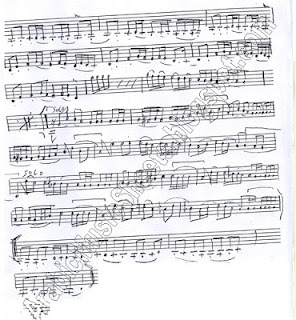 """ Alf Leila Wa Leila "" Music Sheet"