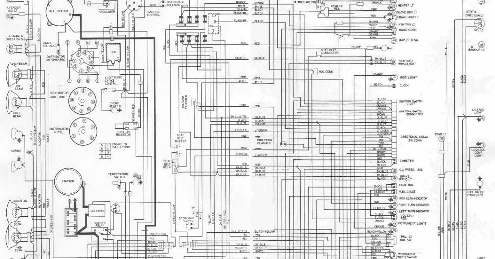 Dodge Challenger Image  1970 Dodge Challenger Alternator Wiring Diagram