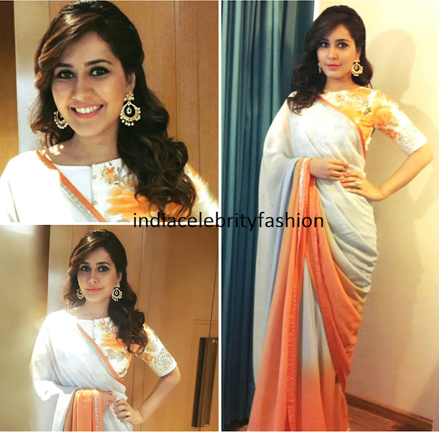 Raashi Khanna in Angasutra for Shivam Promotions