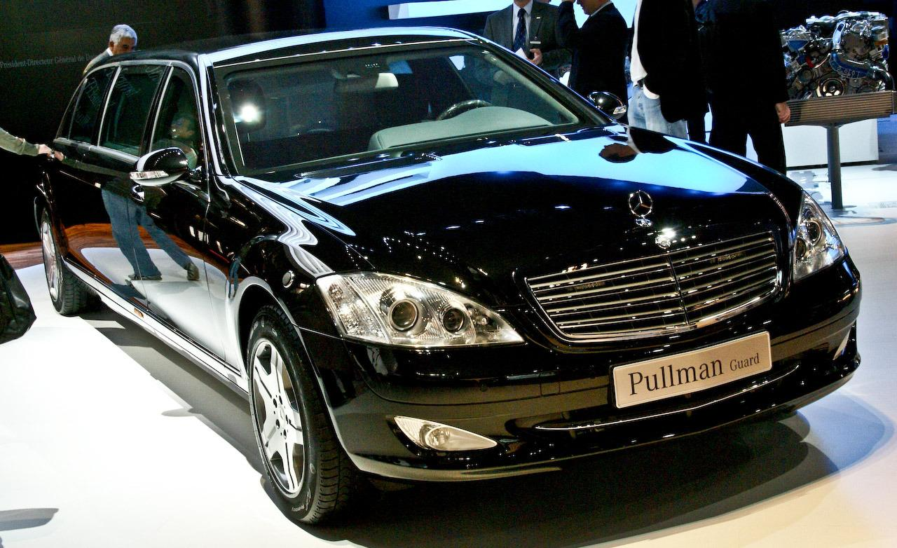 The best cars in the world the mercedes benz s600 pullman for Mercedes benz s600