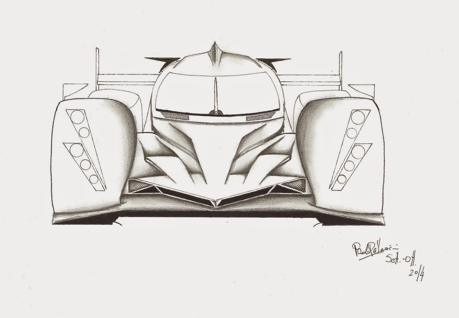 Le Mans Prototype 1 project