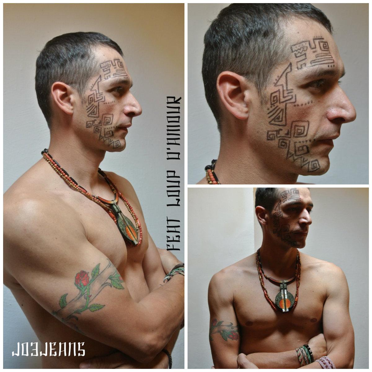 Tatouage Tribal Bracelet Homme - Tatouages de bracelets bagues gourmettes et bijoux