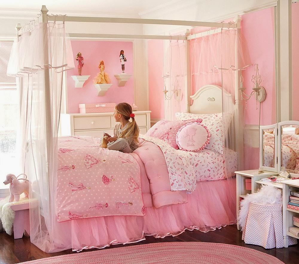 kamar anak perempuan kecil