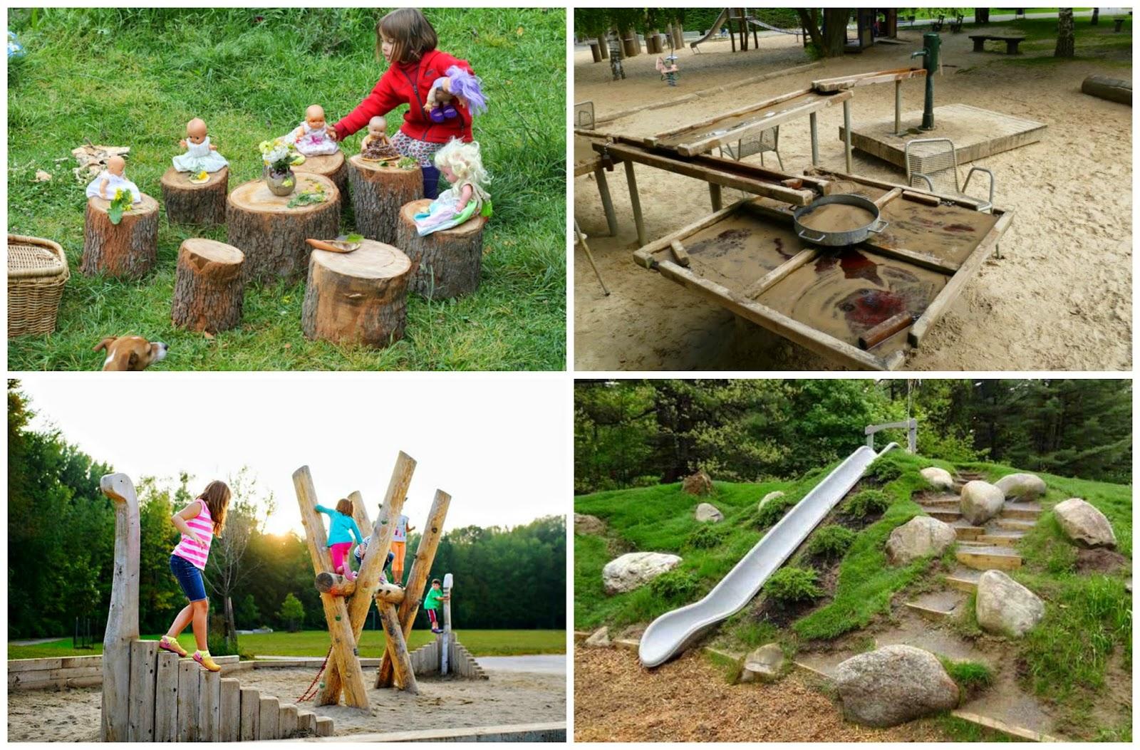 Recursos actividades y materiales sobre la naturaleza for Ideas para parques y jardines