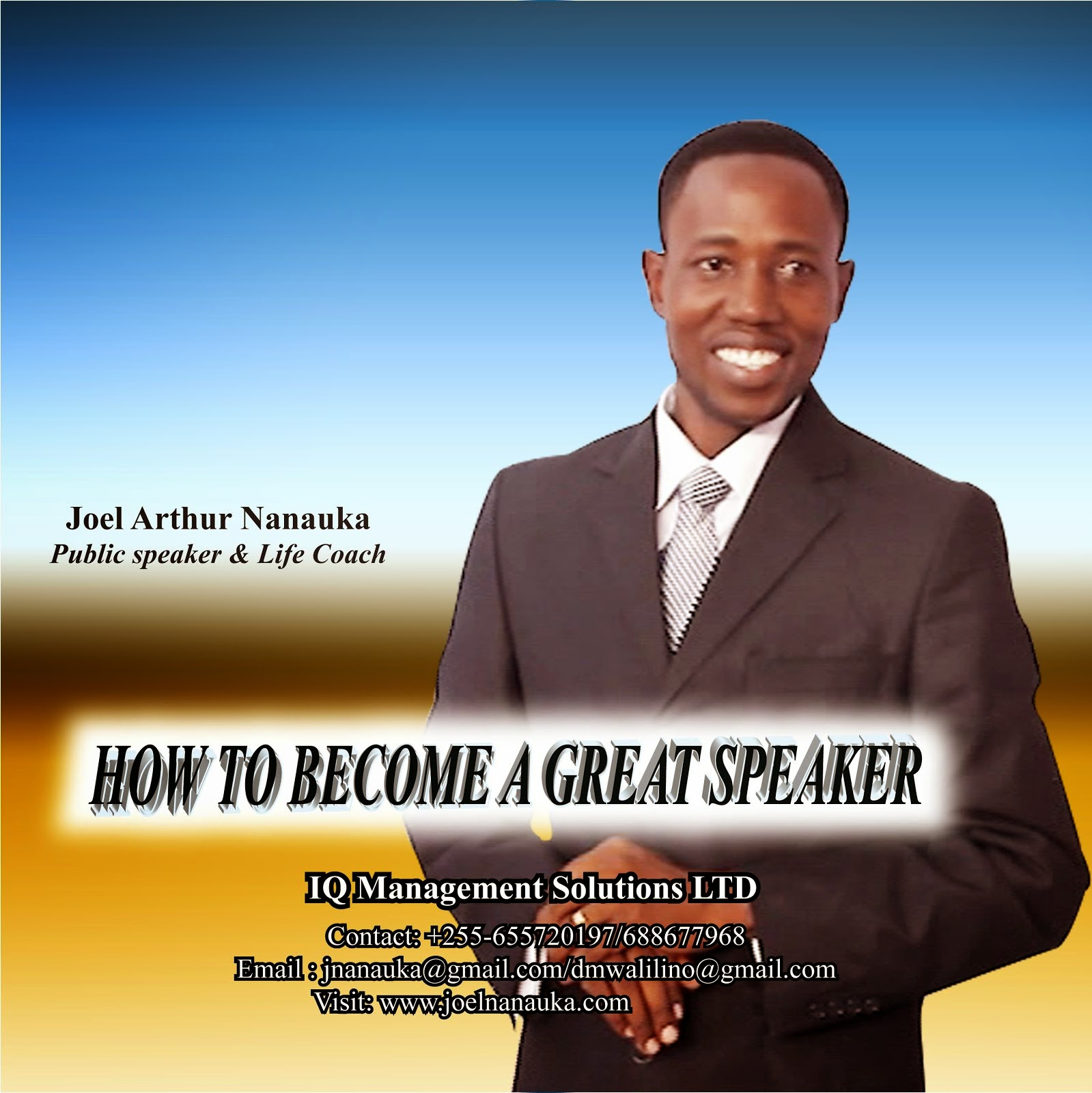 How to make a great speech - Joel Nanauka