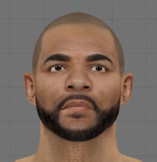 NBA 2K13 Carlos Boozer Cyber Face Mods PC