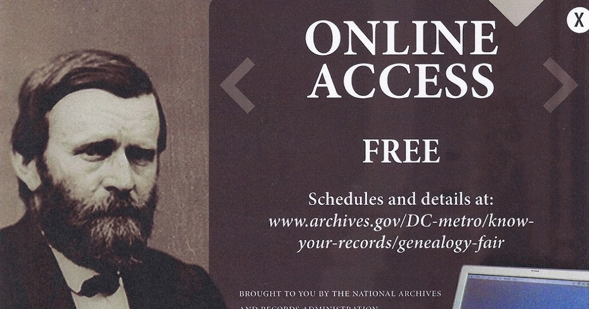 National Archives to host Virtual Genealogy Fair