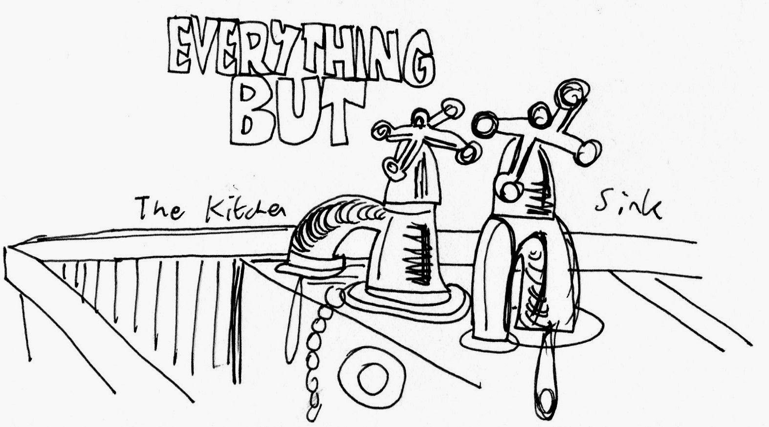 Kath\'s Arty Blog: Everything But The Kitchen Sink