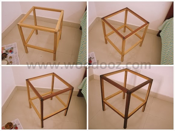 How to build your own diy side table at home indian for Make your own end table