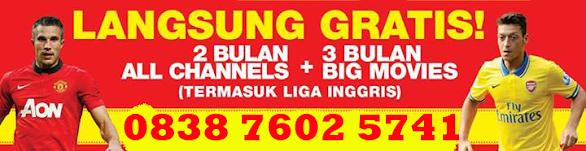 Promo Big TV Bali Desember 2013