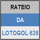 LOTOGOL 628 - MINI RATEIO