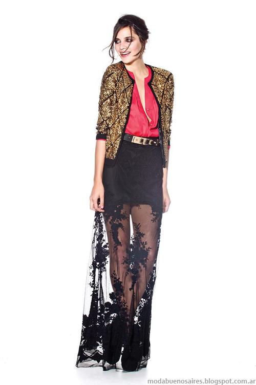 Maria Dahn invierno 2013 moda vestidos