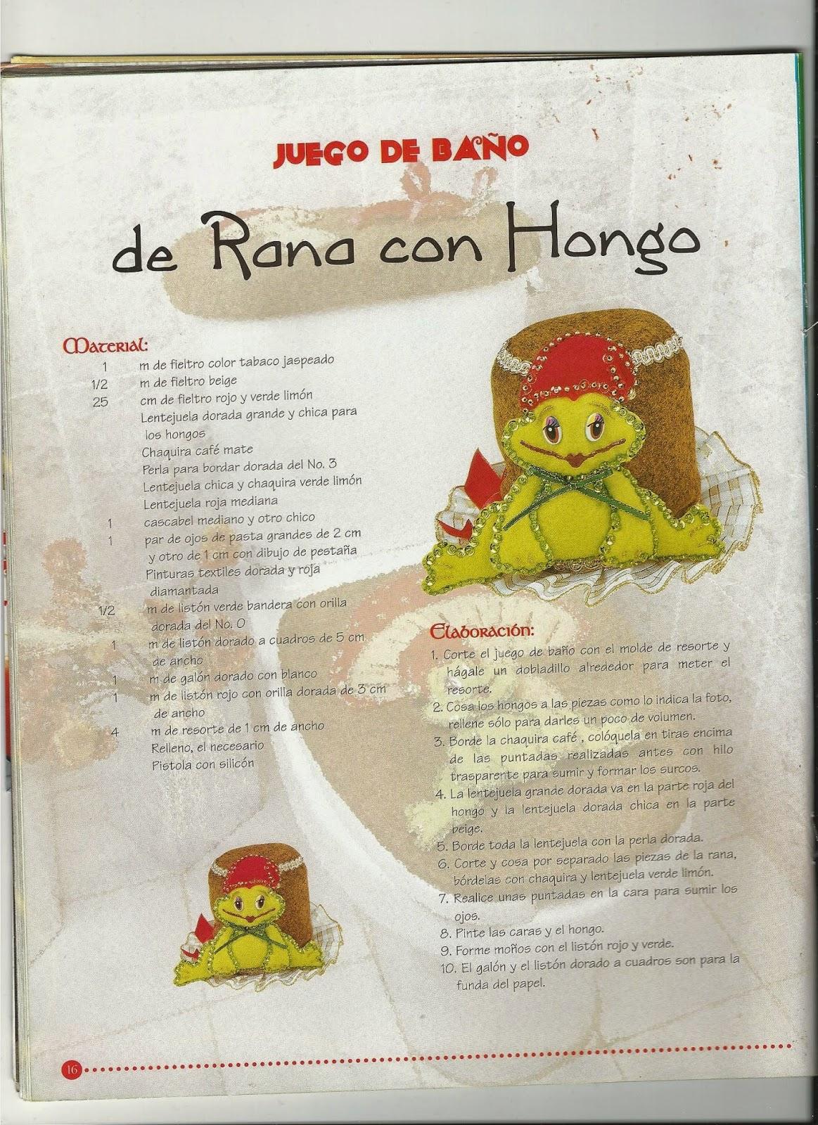 Juegos De Gatos Baño:UN GATO DE TRAPO: ♥ JUEGO DE BAÑO RANITA CON HONGO ♥
