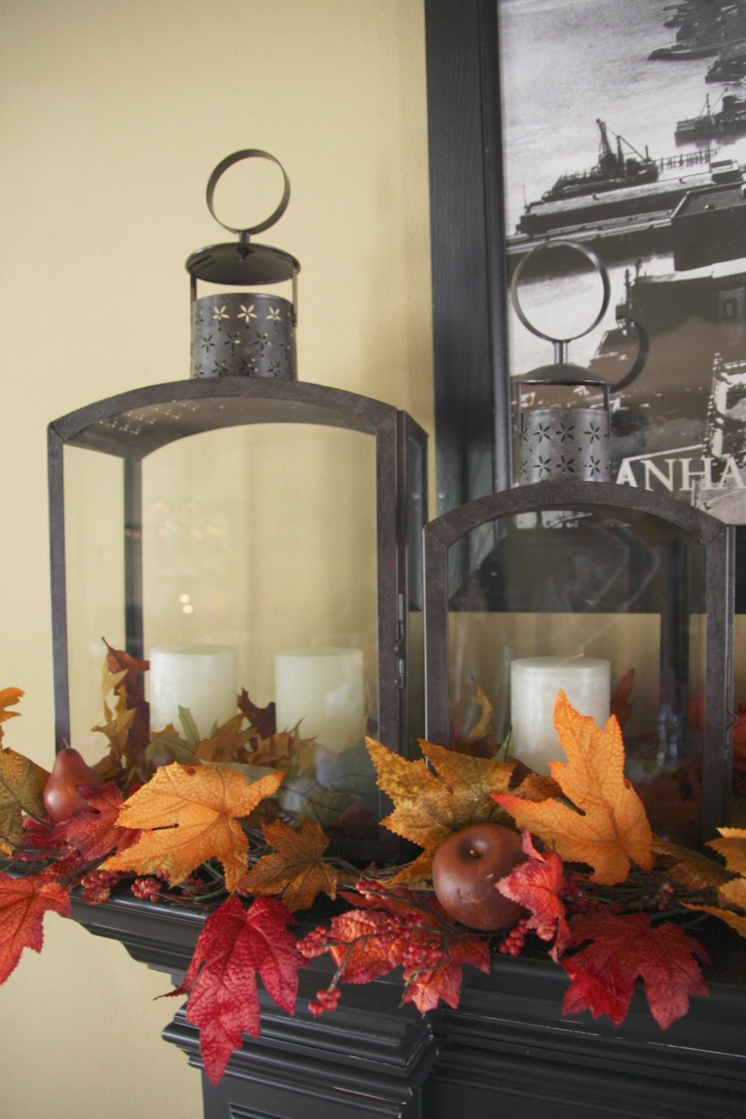 halloween decor - interior home tour - simply organized