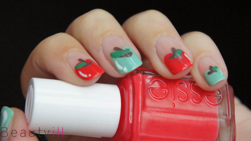 Video Diy Nail Art Tutorial Apple Beautyill