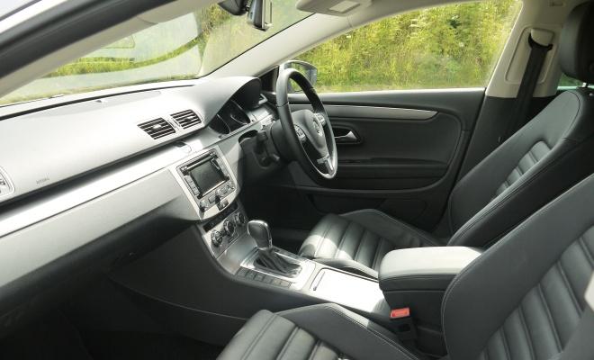 Volkswagen 2012 CC GT front interior