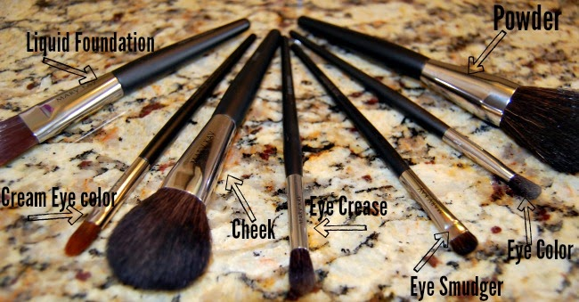 how to use brushes for makeup