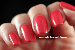 Maquillage Blvd nail polish swatches enter the coral zone