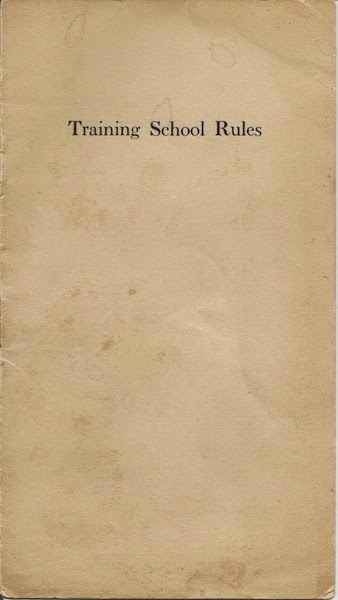 Nurse Training School Manual early 20th century