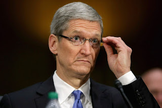 Apple CEO Tim Cook testifies at a Senate hearing last week about the company's Irish subsidiary