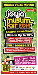 JOGJA MUSLIM FAIR Bakal kembali di gelar, JMF 2014, 21-27 Juni 2014 @GOR Klebengan, Utara UGM - UNY
