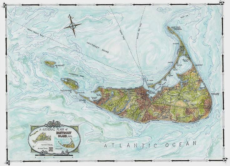 Coastal Art Maps